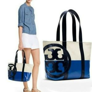 New! Tory Burch Beach Dipped Tote!